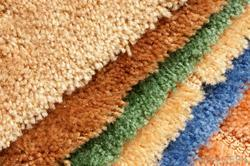 Plain Rectangular Polyester Carpets