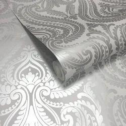 Silver Designer  Wallpaper