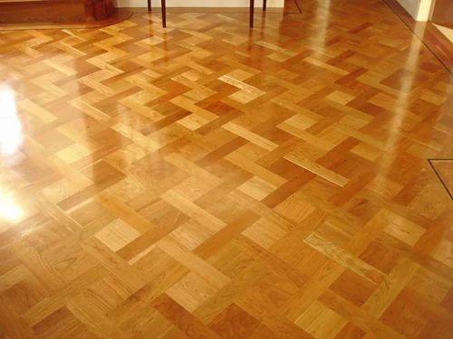 Sundek Grey And Coffee Parquet Wood Flooring Id 11377397812