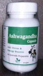 Ashwagandha Capsule, Packaging Type: Bottle