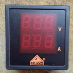 Digital volt ampere dual display meter