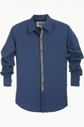 b42732f2cb0a08 Mens Shirts - Placket Oxford Shirt Ecommerce Shop   Online Business ...