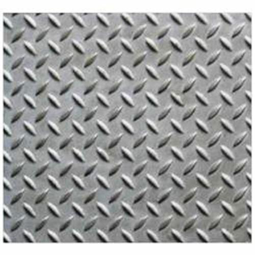 Silver Aluminum Chequered Plate Thickness 1 Mm To 6 Mm Thickness Millimeter 0 8 Mm To 6 Mm Rs 204 Kilogram Id 15205377830
