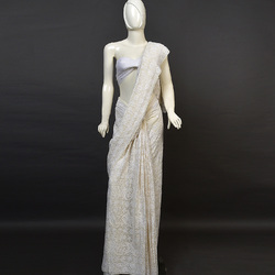 saree pure chikankari only