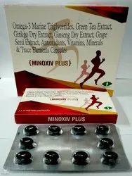 Minoxiv Plus Soft Gel, Packaging Type: Blister