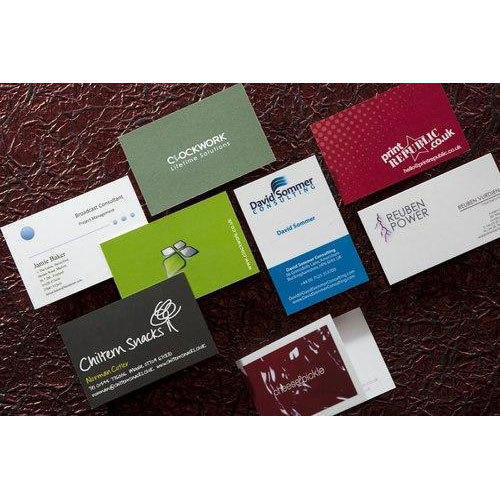 Visiting card printing services in d l f industrial area visiting card printing services reheart Images