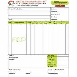 Pad Type Raper Binding Paper Bill Book Printing Service, For Corel Draw, in PAN INDIA