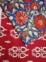 Cotton Block Printed Fabric in World