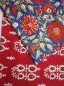 Cotton Block Printed Fabric in World