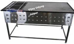 Vijay Udyog Stainless Steel Chapati Plate With Puffer