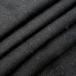 Black Jute Fabric