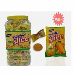 Allwin Mango Slice Candy, Packaging Type: Pouch, Jar, Packaging Size: 160px28pkts, 320px12jars