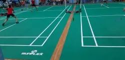 PVC Synthetic Sports Flooring
