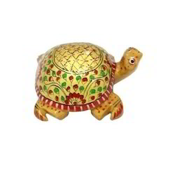 Wooden Colorful Tortoise