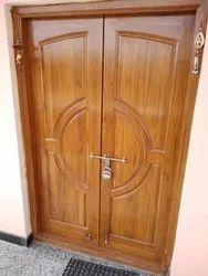 Customize Designer Teak Wood Double  Doors
