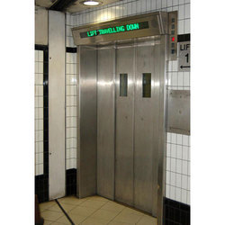 Upto 20 Persons Stainless Steel Passenger Lift