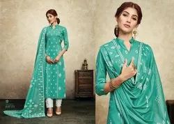 Multicolor AARZU VOL 2 Pure Lawn Salwar Kameez Dress Materials