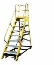 FRP Trolley Step Ladder ( Model No: JN-114/B