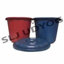 Plastic Storage Drum With Lid