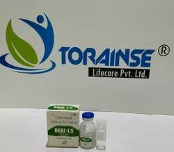 Ceftriaxone 1000 mg   Sulbactam 500 mg