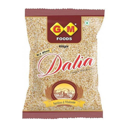 400 gm MP Wheat Dalia, Packaging: Packets