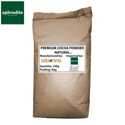 Cocoa Powder - Premium - Natural, Packaging Type: Paper Bag, Packaging Size: 25 Kgs