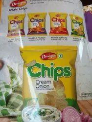 Chips Cream Onion