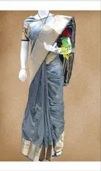 Fancy people Pure Silk Party Wear Saree, 6.3 m (with blouse piece)