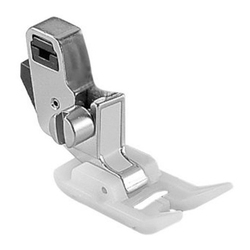 Stainless Steel Sewing Machine Presser Foot, Size: 7 mm