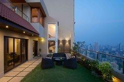 Complete Work Pent House Designing, Work Provided: False Ceiling/POP