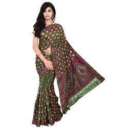 Bandhej Fancy Saree