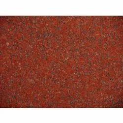 Polished Lakha Red Granite Stone, Thickness: 18-20 mm, Countertops