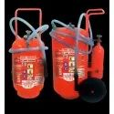 Powder Type Trolley Mounted Fire Extinguisher