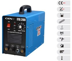Single TIG Range Industrial - Model: ITG 200