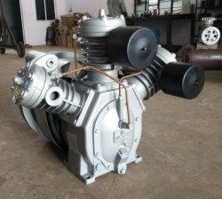 Two Stage Triple Cylinder Air Compressor Pump