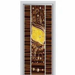 PVC Matte Hinged Micro Coated Lamination Door