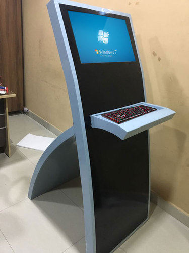 Touch Screen Kiosk System For Bank Hospital Rs 25000
