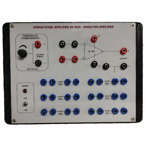 Op- Amp As Non Inverting Amplifier - Eletech Lab Instruments