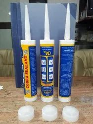 Empty HDPE Silicone Sealant Cartridge