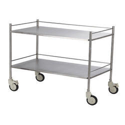 Goyal Stainless Steel SS Instrument Trolley