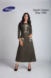 South Cotton Print Kurti