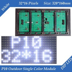 P10 White LED Module For Advertising