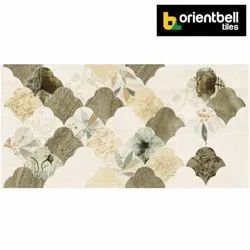 Orientbell Tiles Matte Orientbell LAPATO EXETER HL Glazed Vitrified Wall Tiles, Size: 300x600 mm