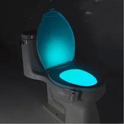 7 Color LED Light Sensor Motion Glow Toilet Bowl
