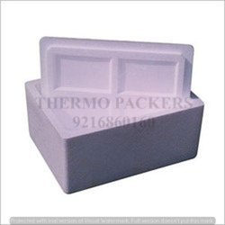 Normal EPS White Thermocol Ice Box