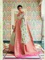 Linen Designer Weaving Silk Saree