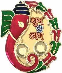 Pooja Dish - Aluminiuam Half Meena
