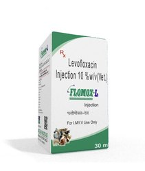 Levofloxacin Injection 10% W/V (Vet)
