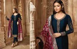 lT Fabrics Nitya Vol 135 Fancy Suits