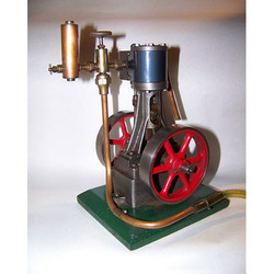 Single Cylinder Engine Manual Driven Cut Section Model